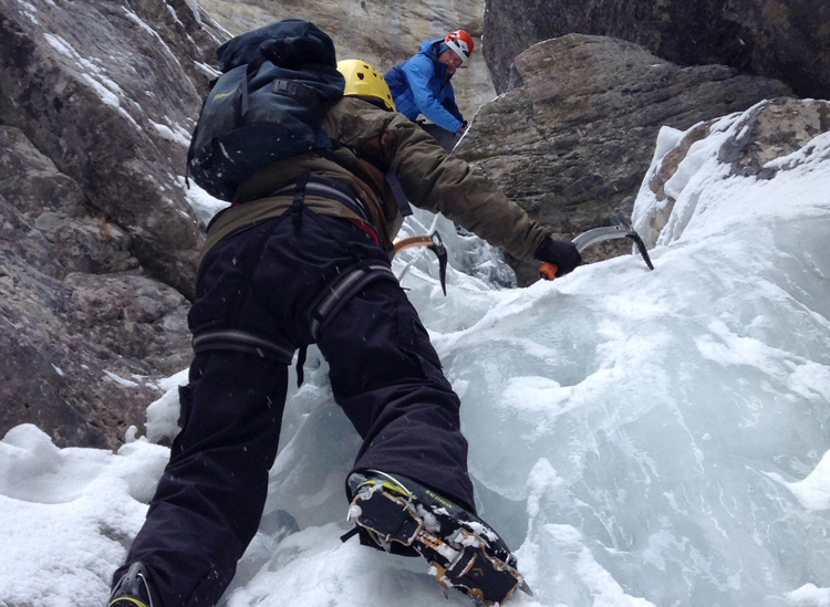 Quebec Ice Climbing Camp (Apply until 16 February 2018)